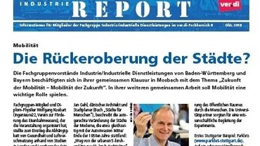 Industrie-Report Oktober 2018