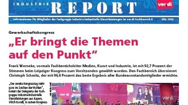 Industrie-Report 10/2019 Teaser